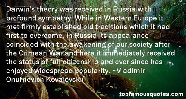 Vladimir Onufrievich Kovalevskiĭ Quotes