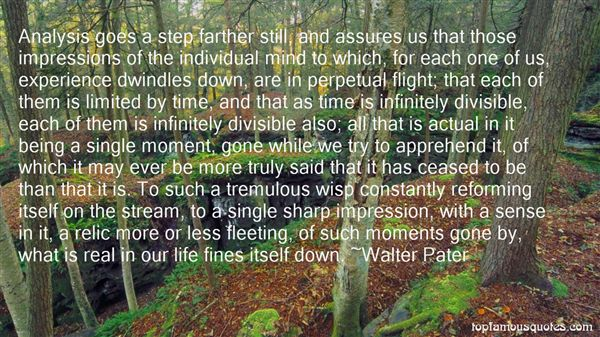 Walter Pater Quotes