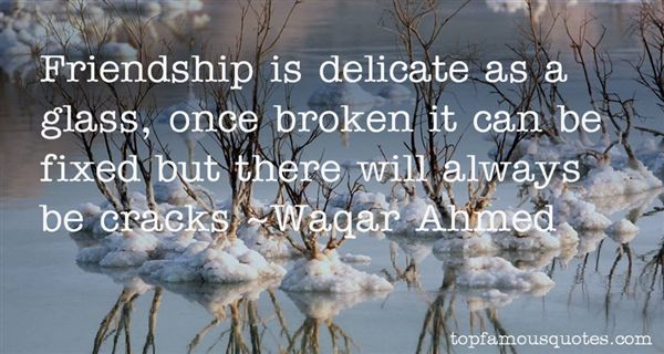 Waqar Ahmed Quotes