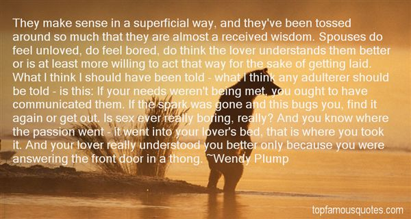 Wendy Plump Quotes