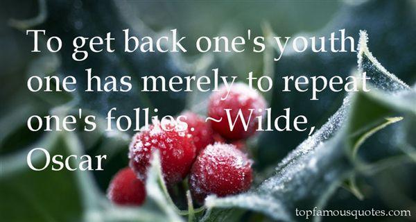 Wilde, Oscar Quotes