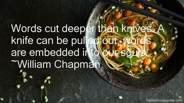 William Chapman Quotes