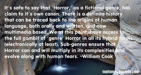 William Cook Quotes