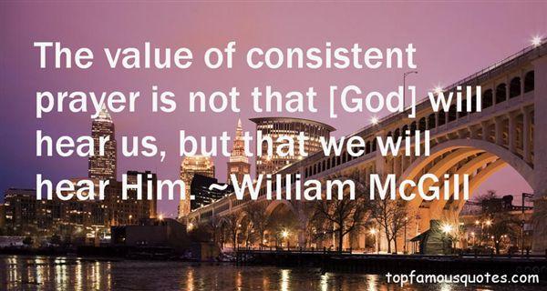 Mcgill Quotes William Mcgill Quotes