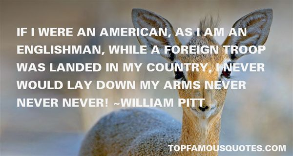 William Pitt Quotes