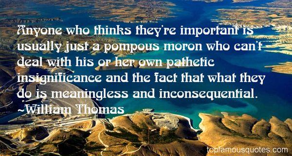 William Thomas Quotes