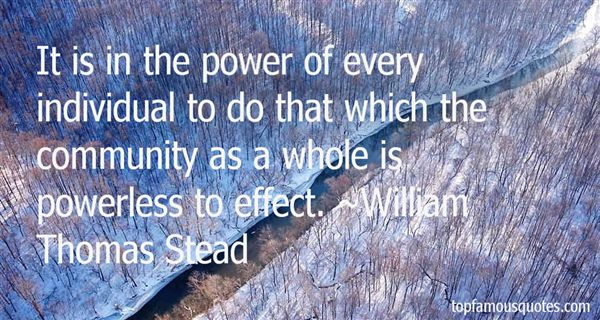 William Thomas Stead Quotes