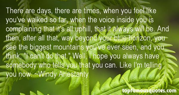 Windy Ariestanty Quotes