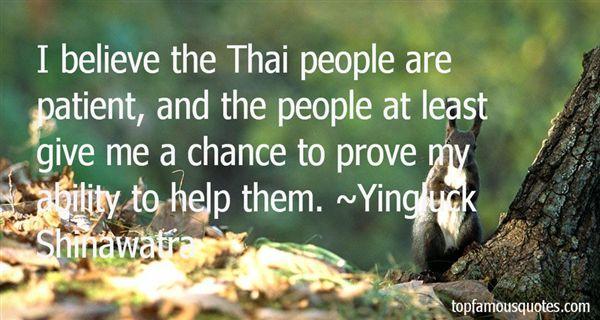 Yingluck Shinawatra Quotes