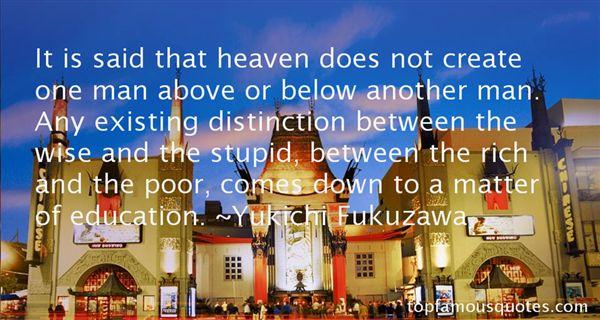 Yukichi Fukuzawa Quotes