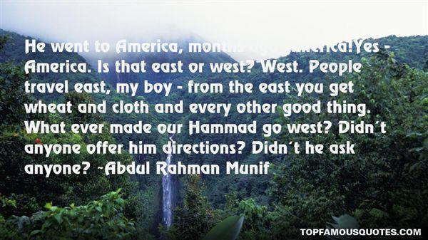 Abdul Rahman Munif Quotes
