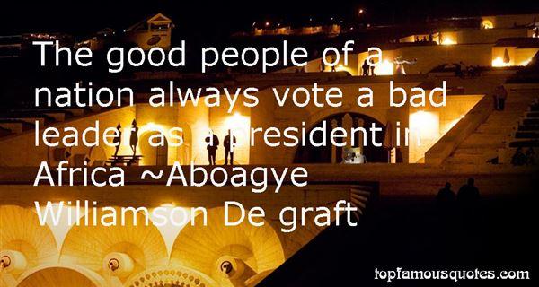 Aboagye Williamson De Graft Quotes