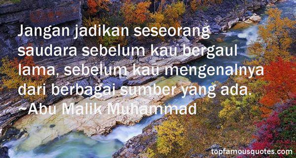 Abu Malik Muhammad Quotes