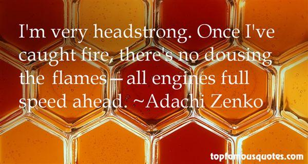 Adachi Zenko Quotes