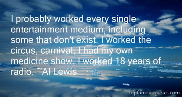 Al Lewis Quotes