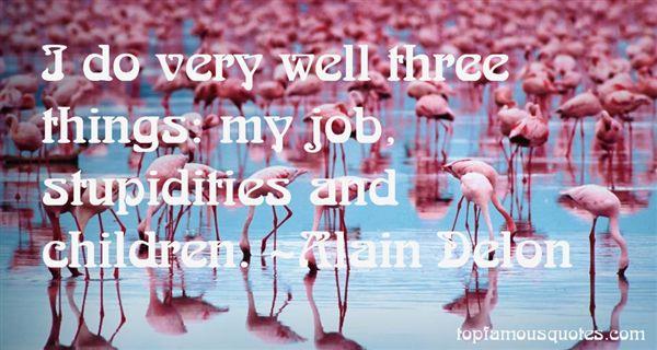 Alain Delon Quotes