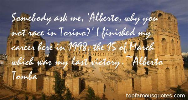 Alberto Tomba Quotes