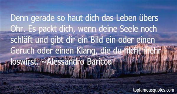 Alessandro Baricco Quotes