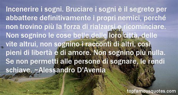 Alessandro D'Avenia Quotes