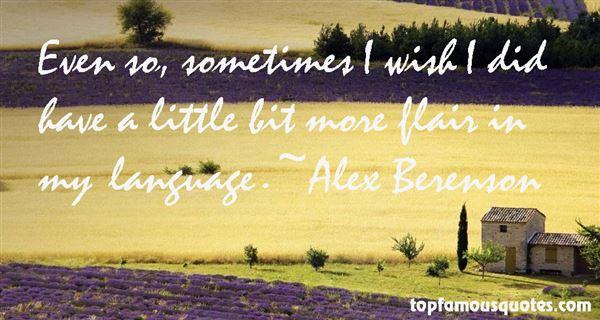 Alex Berenson Quotes