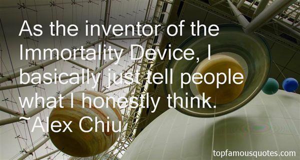 Alex Chiu Quotes