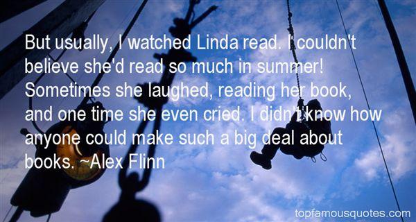 Alex Flinn Quotes