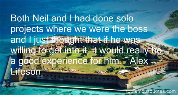 Alex Lifeson Quotes