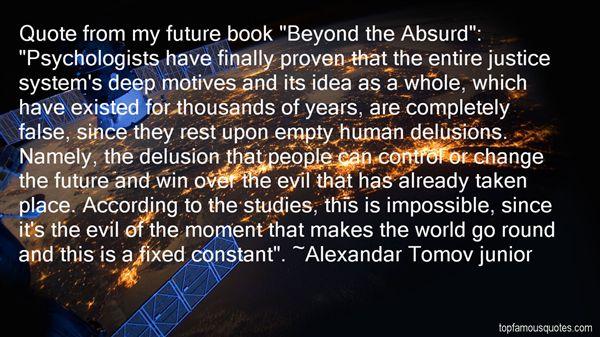 Alexandar Tomov Junior Quotes
