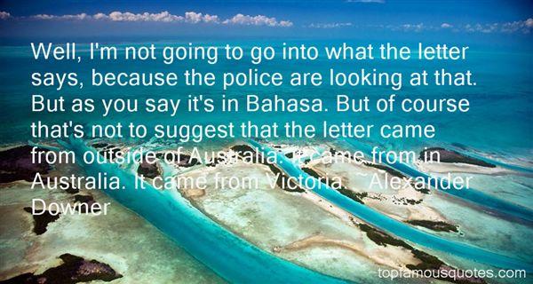 Alexander Downer Quotes