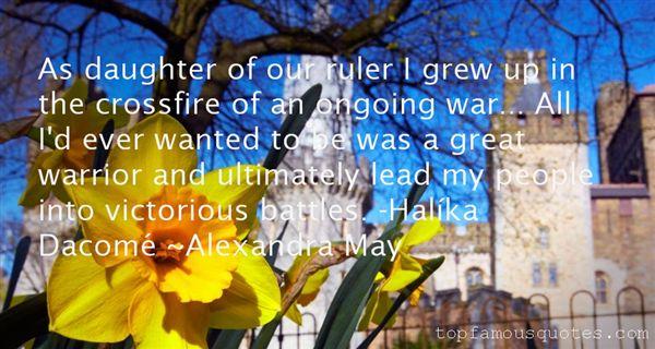 Alexandra May Quotes
