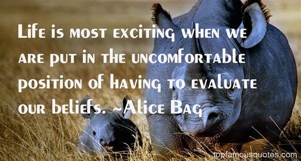 Alice Bag Quotes