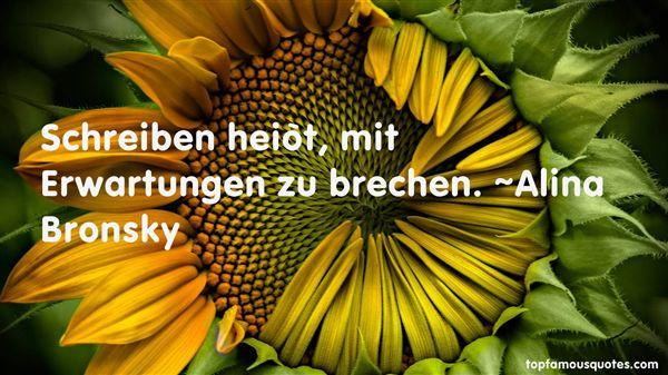 Alina Bronsky Quotes
