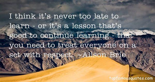 Alison Brie Quotes