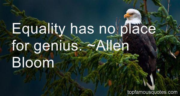 Allen Bloom Quotes