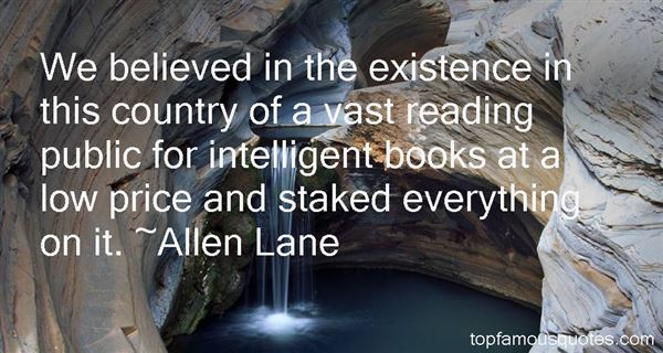 Allen Lane Quotes