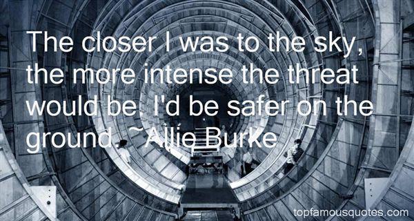 Allie Burke Quotes