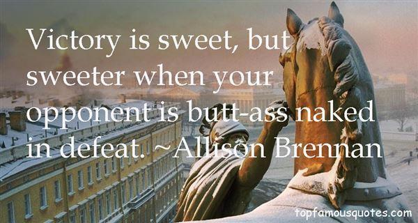 Allison Brennan Quotes