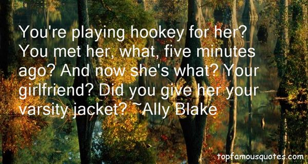 Ally Blake Quotes