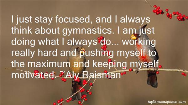 Aly Raisman Quotes
