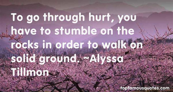 Alyssa Tillmon Quotes
