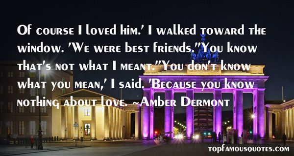 Amber Dermont Quotes