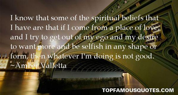 Amber Valletta Quotes