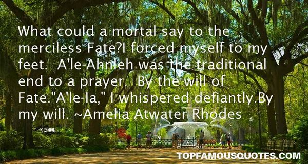 Amelia Atwater Rhodes Quotes