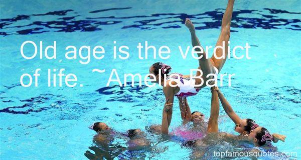 Amelia Barr Quotes