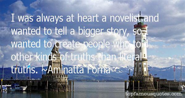 Aminatta Forna Quotes