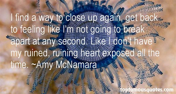 Amy McNamara Quotes