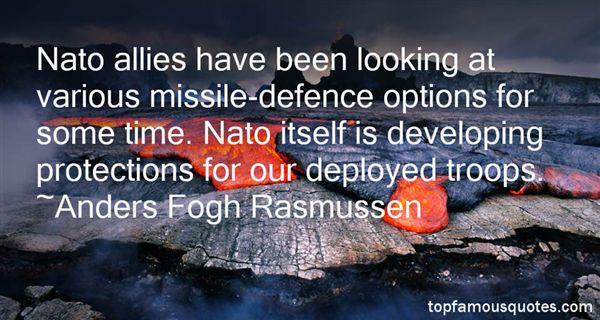 Anders Fogh Rasmussen Quotes