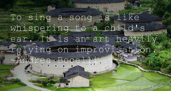 Andrea Bocelli Quotes