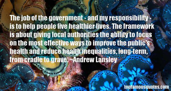 Andrew Lansley Quotes