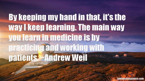 Andrew Weil Quotes